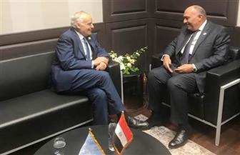 وزير الخارجية يلتقي مبعوثي الأمم المتحدة لكل من ليبيا وسوريا |صور