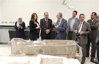 سمبوزيوم لتوثيق ملحمة بناء المتحف المصري الكبير|صور