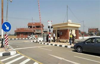 تركيب بوابات أوتوماتيكية لعدد من مزلقانات السكة الحديد بمركز أبو قرقاص