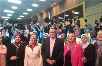 جامعة الإسكندرية تحتفل بتخرج الدفعة 26 من كلية رياض الأطفال | صور