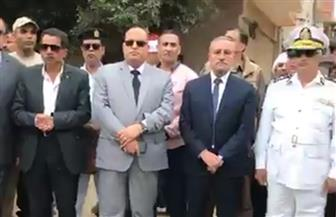 تقدمهم المحافظ.. آلاف من أهالي الإسماعيلية يشيعون جثمان الشهيد محمد بكري | فيديو وصور