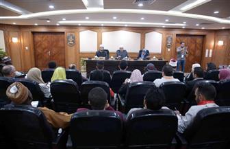 وكيل الأزهر يستقبل القيادات الشبابية المشاركة في ملتقى الأمن القومي العربي