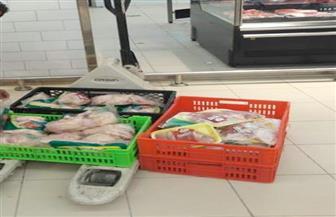 """ضبط 2,45 طن """"دواجن"""" غير صالحة داخل ثلاجة حفظ الأغذية بسوهاج"""