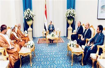 الرئيس السيسي يستقبل وزير خارجية سلطنة عمان