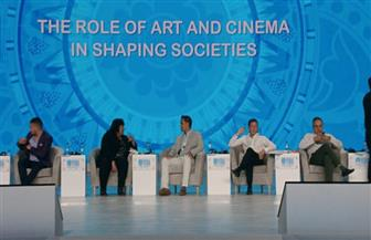 وزيرة الثقافة: الفنون وسيلة للحفاظ على الهوية والتراث وجسرا للتواصل بين الشعوب| صور