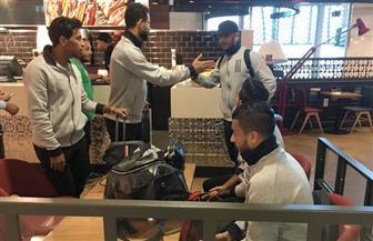 بعثة الأهلى تصل إلى القاهرة اليوم