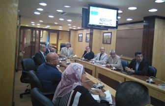 محافظ أسوان يتابع تنفيذ مشروعات تطوير المناطق العشوائية