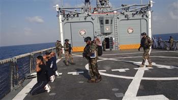 القوات البحرية المصرية والفرنسية تنفذان تدريبا عابرا بنطاق البحر المتوسط لتأمين منصات الغاز |صور