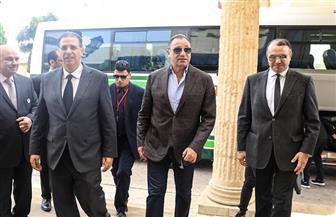 وفد الترجي يستقبل بعثة الأهلي في مطار قرطاج