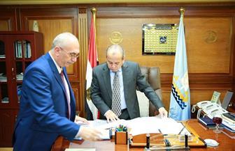 محافظ كفرالشيخ يناقش ملفات لجنة التخطيط العمرانى لمركزى دسوق وقلين | صور