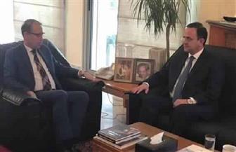 وزير السياحة اللبناني يزور سفير مصر ببيروت ويكرر اعتذاره عن تصريحاته المسيئة