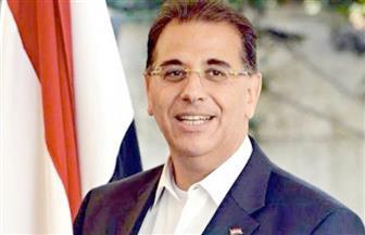 السفير المصري بتونس يحضر مران الأهلي