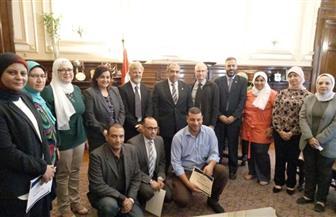 وزير الزراعة يبحث مع سفير نيوزيلاندا في مصر سبل التعاون الزراعي  صور