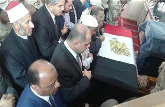 تشييع جثمان المجند محمد سمير بمسقط رأسه بمركز قطور | صور
