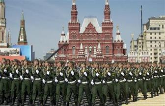 عرض عسكري تاريخي في الميدان الأحمر بروسيا