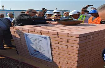 محافظ الغربية يفتتح ويضع حجر أساس مشروعات جديدة للصرف الصحى بقطور| صور