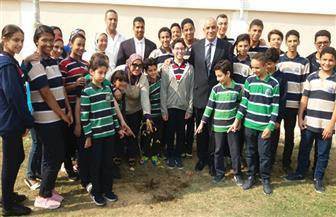 """""""تعليم الإسكندرية"""" تشارك في مبادرة الرئيس لزراعة 1.5 مليون شجرة   صور"""