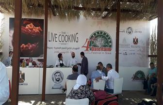 منتجات 146 شركة ومصنع تتنافس في مهرجان التمور بسيوة   صور