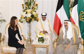 """نادية مراد الحائزة على """"نوبل للسلام"""": نحتاج لدعم ونصائح سمو أمير الكويت فى مجال العمل الإنساني"""