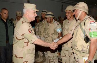 """الفريق محمد فريد يشهد المرحلة الرئيسية للمشروع التكتيكي """"فجر -1"""""""