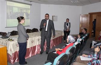 رئيس جامعة حلوان: نولي أهمية كبيرة للتصنيف الدولي   صور