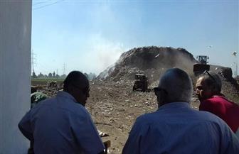 محافظ الغربية يوجه برفع تجمعات القمامة من المقلب العمومي بمركز سمنود
