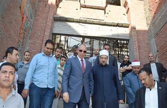 وزير الأوقاف ومحافظ البحر الأحمر يتفقدان مسجد الدهار بالغردقة | صور