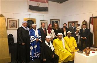 سفير مصر بجنوب إفريقيا يفتتح الجناح المصري بالأسبوع الثقافي العربي |صور