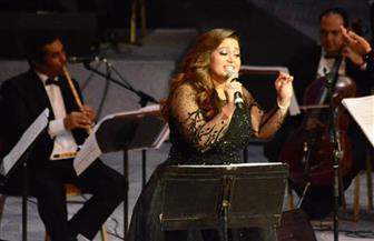 ريهام عبد الحكيم تتألق في حفل مهرجان الموسيقى العربية بحضور وزيرة الثقافة |صور