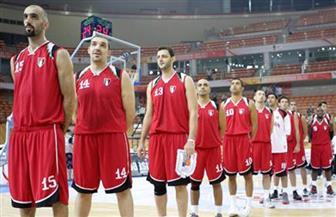 """منتخب """"السلة"""" يواصل انتصاراته في البطولة العربية على حساب البحرين"""