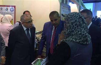 رئيس جامعة الأزهر يتفقد أجنحة التايكو بمعرض القاهرة الدولى الخامس للابتكار | صور