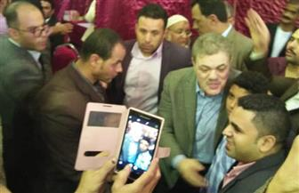 """""""البدوي"""" يدلي بصوته في انتخابات """"عليا الوفد"""""""