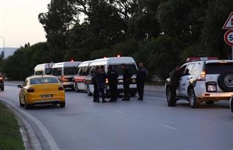 الأمن التونسي يوقف أتوبيس الترجي في منتصف الطريق لحين مرور موكب الأهلي