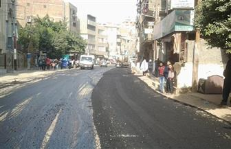 محافظ الغربية: رصف 18 شارعا فى طنطا وبسيون | صور