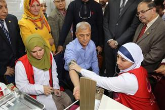 """وزيرة الصحة: ٢٤.٥ مليون مواطن تم فحصهم منذ انطلاق """"١٠٠ مليون صحة"""" حتى الآن"""