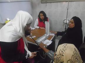 """""""صحة القاهرة"""": إقبال كثيف على حملة """"100 مليون صحة"""""""