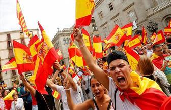 آلاف يتظاهرون في مدريد تأييدا لوحدة إسبانيا