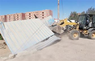 تحرير 199 محضر إشغال وإزالة في مركز ومدينة أبوتيج | صور