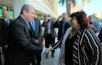 وزيرة الثقافة ومحافظ كفرالشيخ يفتتحان قصر ثقافة دسوق