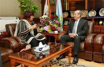 وزيرة الثقافة من كفرالشيخ: الرئيس السيسي يولي البعد الثقافي اهتماما كبيرا | صور
