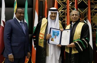 الأكاديمية العربية تمنح الدكتوراه الفخرية للأمير سلطان بن سلمان بن عبد العزيز آل سعود | صور