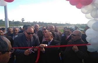محافظ الفيوم يفتتح محطة رفع صرف صحي فرعية بقرية النزلة | صور