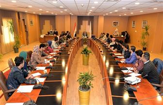 رئيس جامعة المنصورة يناقش مع اتحاد الطلاب خطة الأنشطة خلال العام الدراسي