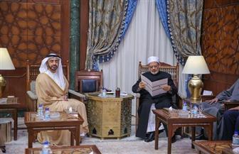 الإمام الأكبر: الإمارات باتت تمثل نموذجا للتعايش والتسامح بين مختلف الثقافات  صور