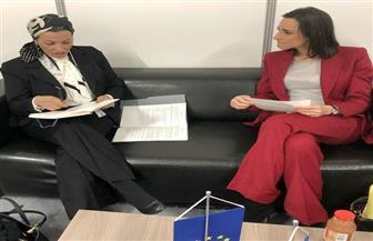 وزيرة البيئة تلتقي نظيرتها الفرنسية ببولندا لبحث التغير المناخي والتعاون بين البلدين