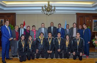 محافظ الإسكندرية يكرم أبطال مصر في بطولة العالم للإنقاذ.. وهذه أسماؤهم | صور