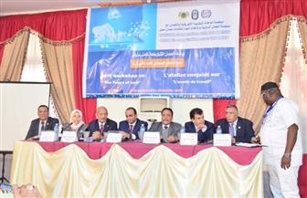 """انطلاق مؤتمر عمالي مشترك بين منظمة الوحدة النقابية الإفريقية و""""العمل الدولية"""" و""""اتحاد عمال مصر"""" بالإسكندرية"""