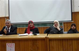 ندوة بجامعة طنطا حول دور الشباب في مواجهة التحديات المعاصرة| صور