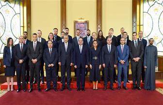 الرئيس السيسي يستقبل وفدا لرؤساء وممثلي عدد من كبرى صناديق الاستثمار العالمية والإقليمية| صور