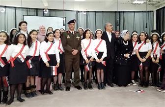 تنمية روح الولاء والانتماء لطلبة المدرسة الصناعية بكفرالشيخ بالتعاون مع قوات الدفاع الشعبي | صور
